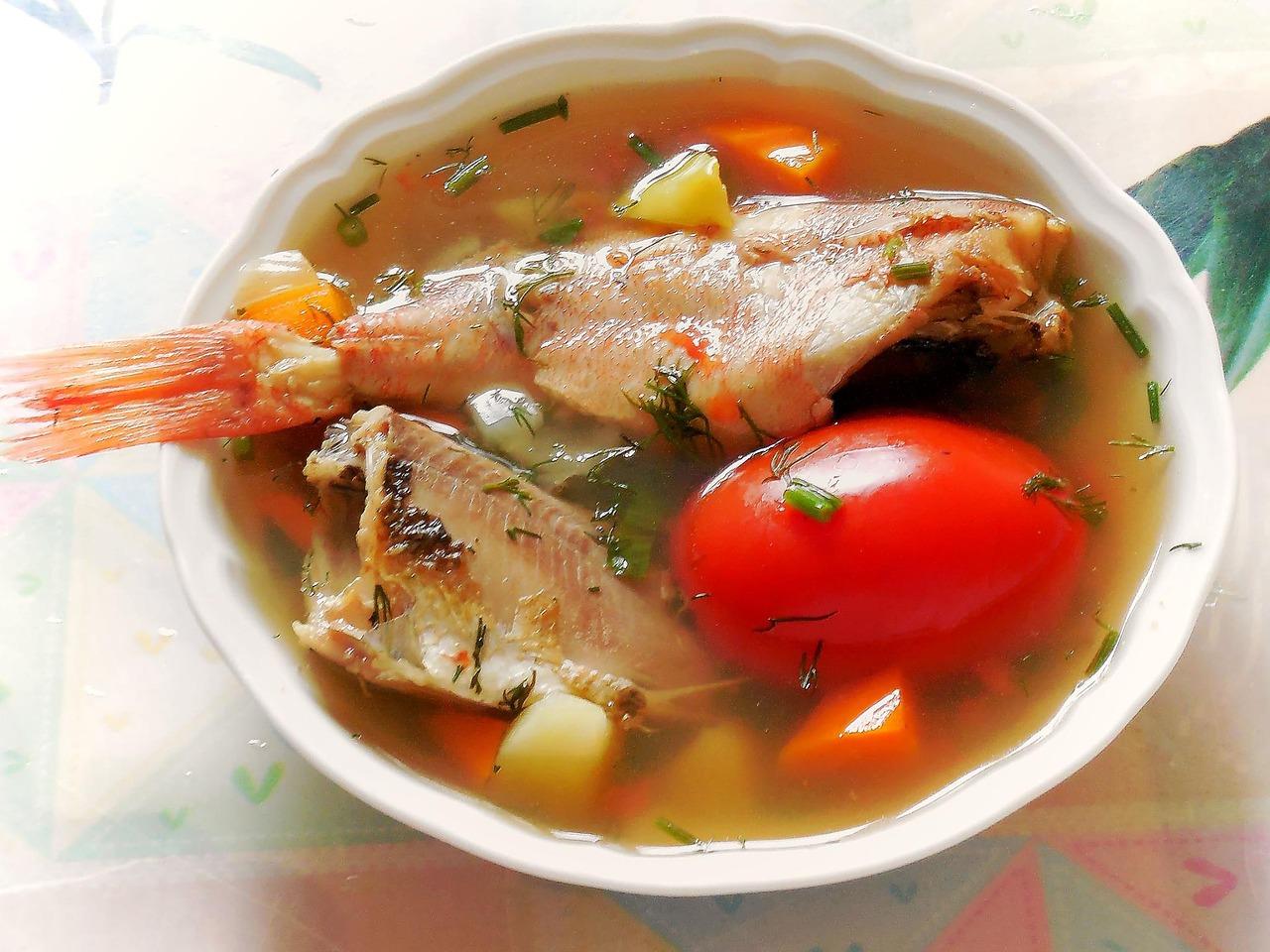Fischmenü auf Usedom