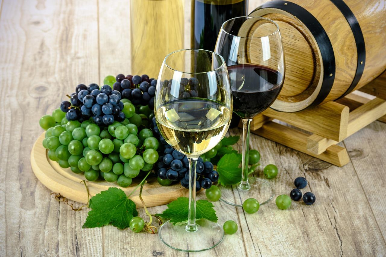 Wein zu Meeresfrüchten